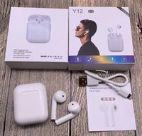 Y12 TWS Touch Control Earbuds Super Bass Wireless Bluetooth ...