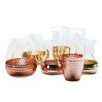 Altın Petek Cam Çiçek Vazolar Metalik Ton Modern Minimalist Masa Ev Dekor Düğün Centerpieces