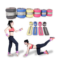 1KG 1pair sports training ankle weight sandbag hand wrist we...