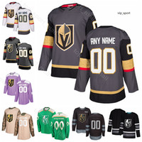 Vegas Golden Knights Hockey Jonathan Marchessault Jersey Marc-Andre Fleury Erik Haula William Karlsson Nate Schmidt 100 주년 기념