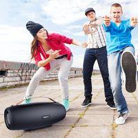 시끄러운 스피커 전원 은행 U 디스크 캠핑 열광 S27 무선 야외 힙합 블루투스 5.0 스피커 38W 서브 우퍼 휴대용 오디오 음악 플레이어