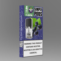Authentic pre- filled pods 18 flavors no burn taste no leak 0...