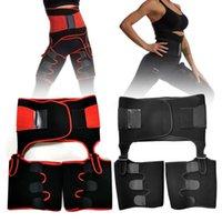 3in1 Múltiplas Funções cintura instrutor Belt Coxa Aparadores BuLifter ajustável Shapewear para as Mulheres Workout da aptidão