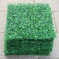 """Искусственный газон искусственная трава коврик корм для домашних животных коврик 9.8 """"x9. 8"""" пластиковый Аквариум поддельные травы газон микро пейзаж 10 шт. / лот"""