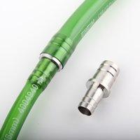 1 pz 16/22 12/16 Acciaio inossidabile Valvola valvola per tubi flessibili CO2 CO2 Adattatore per tubi per tubo per tubo per acquario