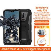 "Blackview BV9700 Pro IP68 / IP69K Прочный мобильный телефон Helio P70 Octa core 6 + 128 ГБ 5.84 ""IPS 16MP + 8MP 4G Face ID Смартфон"