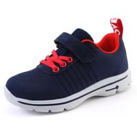 first rate e62cd fc772 Nouveau Filles Sneakers Respirant Garçons Sport Chaussures Enfant Chaussures  De Course En Maille pour Enfant Petits