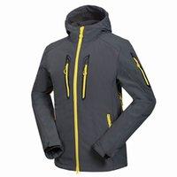 Uomini Primavera Autunno Autunno Militare Fleece Pile Giacca Tattica Cappotto Mens Outdoor Sport Softshell Escursionismo Esercito Giacche calde 16151653