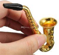Forma il nuovo disegno altoparlante metallo Snuff Pippotto Sniffer fumo del tabacco da pipa Tubi portatile sigaretta migliore regalo Accessori fumatori