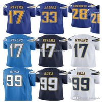b0e1ad1e0 28 Melvin Gordon Limited Los Angeles 33 Derwin James Charger jersey 17  Philip Rivers 99 Joey Bosa Football Jerseys Color Rush Mens Adult