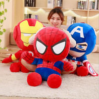 35cm Soft Stuffed Super Hero Captain America Iron Man Spider...
