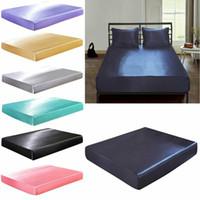 홈 섬유 제품 단색 프릴 침대 시트 추가 깊은 장착 시트 방수 침대 시트 커버 매트리스 프로텍터 핫 세일