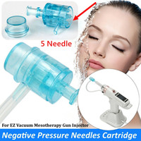 EZ Vacuum Mesotherapy Gun accessories needle, tube and filte...