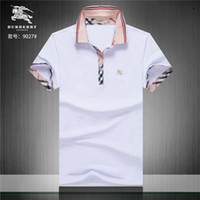 2019 brand new Luxury designer casual men polo shirts snake ...