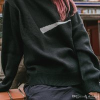 19SS Box Logo Jointly Sweater Knitted Classic Sweatshirt Pur...