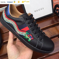 Liujingang6 0084 embroidery auspicious dragon casual shoes S...
