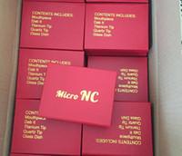 Mini Micro NC Collector Kit avec embout en acier inoxydable de 10 mm 14 mm 18 mm tous avaiable Pipe en verre Micro NC ensemble