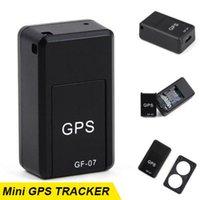 Mini dispositivo GPS Car Tracker GPS Localizador Rastreador Anti-Perdida de voz / APP de control de seguimiento de dispositivos de grabación GF-07/09 coches