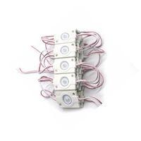 Módulo SMD 3030 LEDBacklight de Alta Potência IP67 módulo led de injecção à prova de Água, módulo led de publicidade DC12V 1.5 W com CRESTECH para lentes