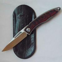 Chris Reeve EDC faca 61HRC M390 100% bolso punho titânio lâmina dobrar faca de caça Sobrevivência facas faca presente 1pcs ADRU