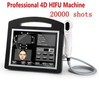 Профессиональный 3D 4D Hifu Machine 20000 Shots Высокая интенсивность сфокусированного Ультразвуковой Hifu Лифт лица для лица груди и тела для похудения
