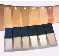 Özelleştirilmiş Hizmet Kozmetik Mağazası 6 Renkli Vakıflar Dikdörtgen Şişe Logonuzu Yazdır Sıvı Vakfı BB Krem Özel Etiket