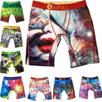 Fashion Ethika Mens boxer underwear Random styles sports hip hop rock excise underwear skateboard street designer quick dry