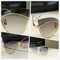 النساء المصممات النظارات الشمسية الفاخرة ... ... القطنظارالذهبي ... ... النظارات الشمسية الكبيرة ... ... نظارات النظارات الشمسية العصرية