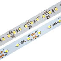 شحن مجاني 1M مصنع بالجملة DC 12V 60/120 بقيادة SMD 2835 LED الصلب جامدة بقيادة قطاع ضوء بار