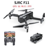 SJRC F11 GPS Drone With WIFI FPV 1080P Camera 25mins Flight Time Brushless Selfie Foldable Arm RC Drone Quadcopter Follow me