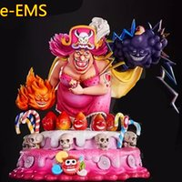 Anime ONE PIECE BIG MOM Charlotte Linlin With Den Den Mushi ...
