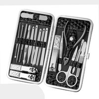 Manicure Kit Pedicure Set Stainless Steel Kit Nail Clipper T...