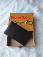 France novo estilo de couro homens bolsa de moedas Designer mulheres senhora bolsa de moedas carteira chave mini-carteira