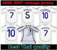 2006 Giappone Retro Soccer Jerseys Nakamura Ogasawara nakazawa nakata endo via classica camicie da calcio vintage classico