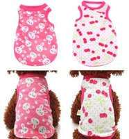 Summer Dog Clothes Pet Vest Puppy Dog Shirt Cats Clothes for Teddy Poodle Small Dogs Clothing Pet Apparel