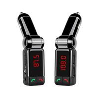 BC06 Player de áudio Bluetooth para carro com transmissor de FM Dual USB