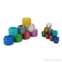 Смола Замена труб Cap Kit большой емкости Honeycomb Cobra Drip Tip змеиной кожи Для Испаритель Реса Prince Glass Tank Визуальная Ability Горячие Продажа