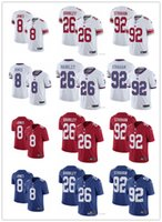 Men Women Youth New York Giants 26 Saquon Barkley 10 Eli Man...