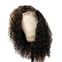 full lace human hair wigs 13*4 lace front wigs Natural Curly...
