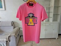 Balmain Mens T Shirts Pink Yellow Men Women Stylist T Shirts...