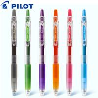 هلام الأقلام 1PCS الطيار القرطاسية عصير اللون القلم 0.5MM حساب حساب طالب مع توقيع الملاحظات الملونة