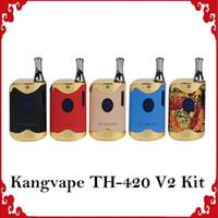 100% Original Kangvape TH-420 II v2 Starterkit 650 mAh VV TH420 2 Batteriekasten Mod. 0,5 ml 92a3 Dickölpatronentank 01