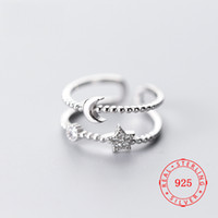 US Size 5. 5 ~ 6. 5 high quality 925 sterling silver unique de...