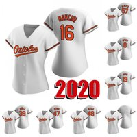 2020 새로운 시즌 트레이 만치니 뉴저지 칼 립켄 주니어 크리스 데이비스 레나토 누네즈 존 수단 리처드 같은 Bleier 헨저 알베르토 야구 유니폼 여자