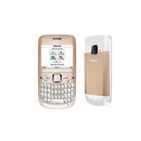 Perakende Kutu Ücretsiz dhl ile Yenilenmiş Orijinal Nokia C3-00 Telefon Unlocked 2.4 inç Ekran 2 MP Kamera, Bluetooth, FM JAVA 2G GSM Cep telefonu