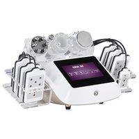 Directy Résultat L 6in1 40k Cavitation Machine RF Serrage du visage Perte de poids Perte de poids Vacuum Ultrasonores avec pad laser Equipement de beauté Bon effet
