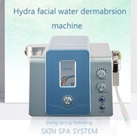 80KPA 2 em 1 água diamante microdermoabrasão com 8 dicas hidrelétricas e 9 pontas de diamante enfrentar sistema casca da pele facial spa hidra limpeza profunda