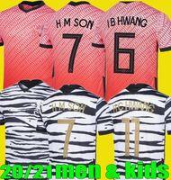 Homens Kids Korea Son South 20 21 Coréia Home Away Hyung Kim Lee Kim Ho Filho Futebol Jerseys 2020 2021 Futebol Camisas