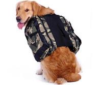 الكلب على ظهره، والحيوانات الأليفة قابل للتعديل السرج حقيبة تسخير الناقل عن السفر المشي لمسافات طويلة التخييم، ومناسبة للكلاب الصغيرة والكبيرة