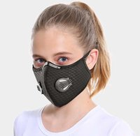 Cycling Mask Active Carbon With Filter Dust Mask Breathing V...